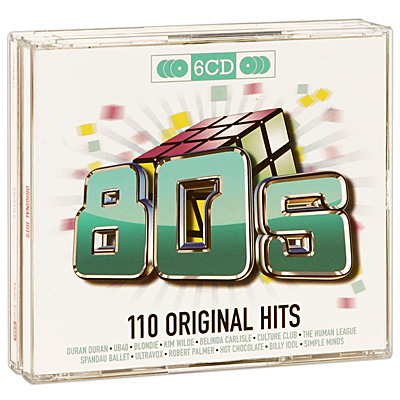 Original Hits: Eighties (6 CD) Серия: Original Hits инфо 3440f.